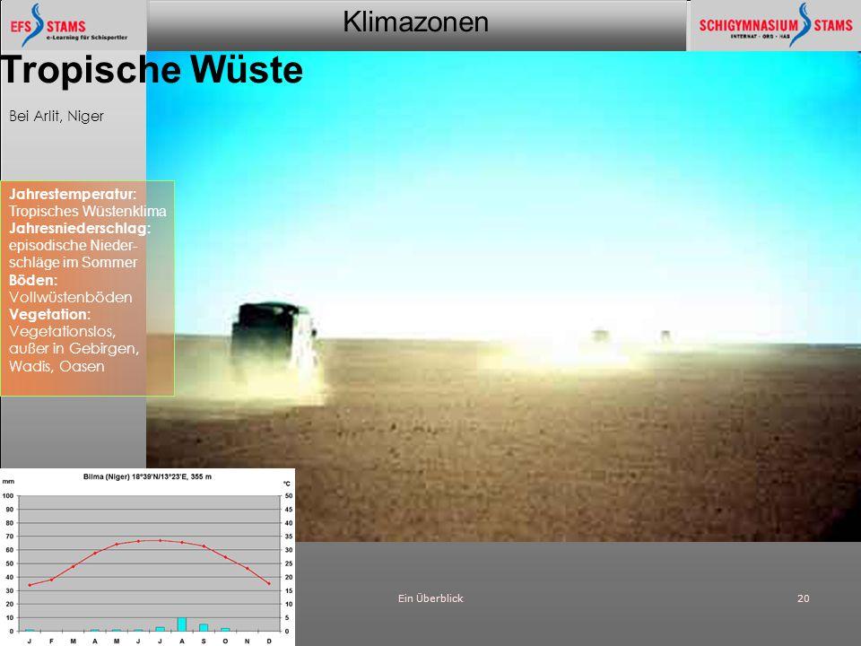 Tropische Wüste Bei Arlit, Niger Jahrestemperatur: