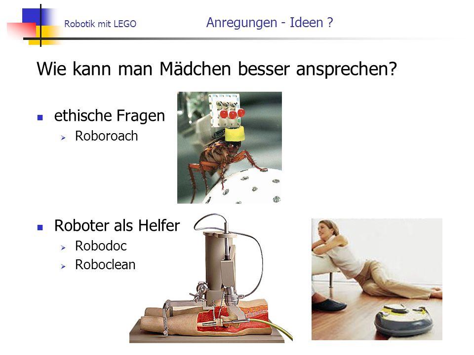Robotik mit LEGO Anregungen - Ideen
