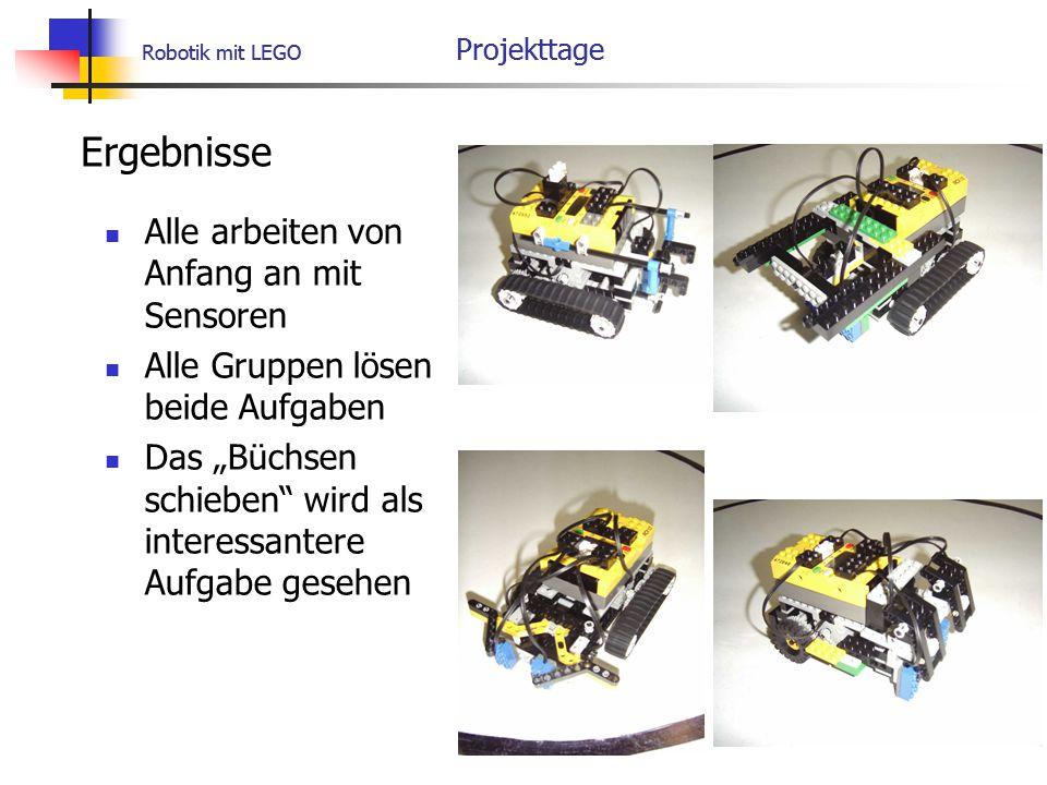 Robotik mit LEGO Projekttage
