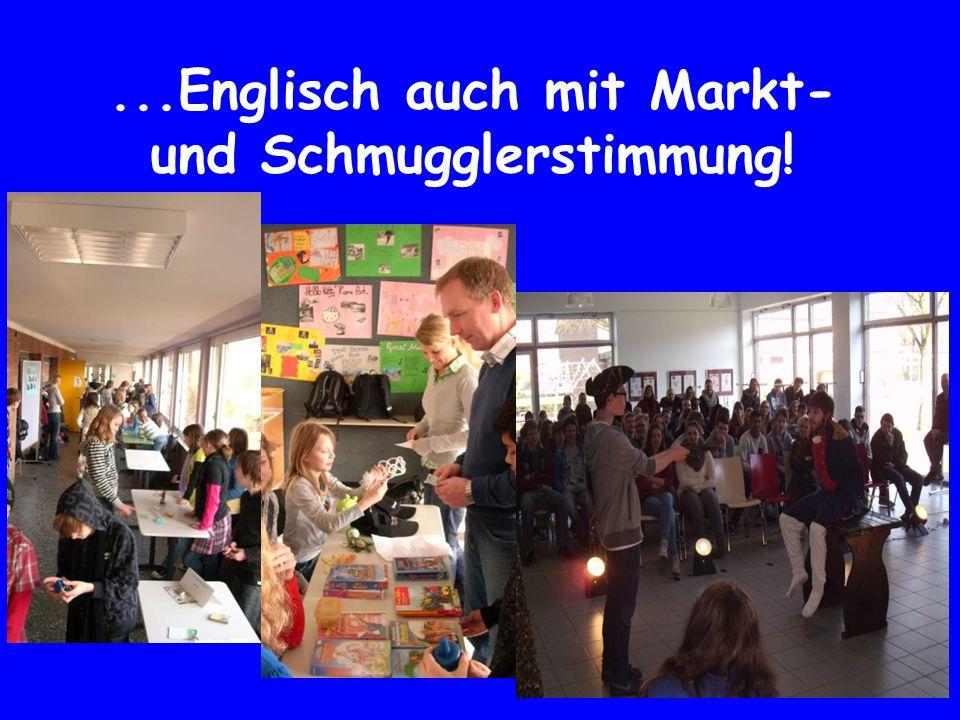 ...Englisch auch mit Markt- und Schmugglerstimmung!