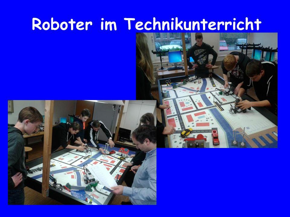 Roboter im Technikunterricht