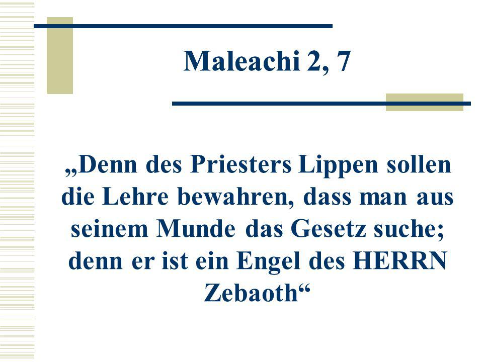 Maleachi 2, 7 Maleachi 2, 7.