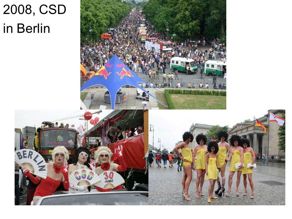 2008, CSD in Berlin