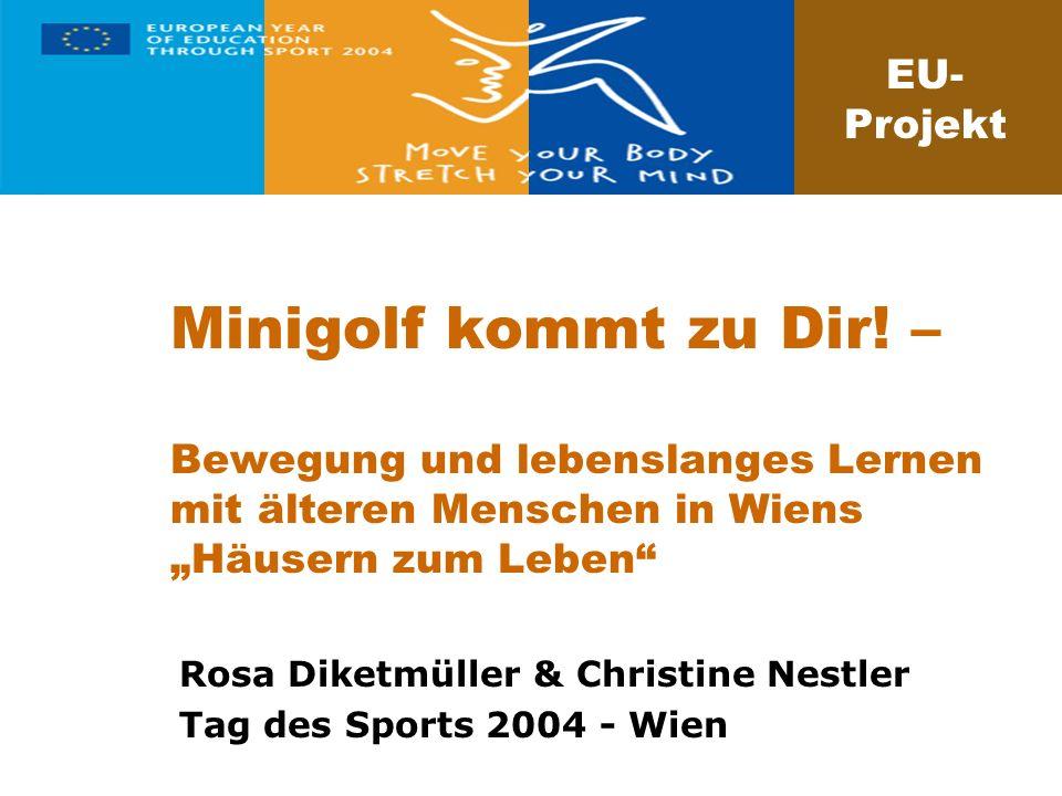 Rosa Diketmüller & Christine Nestler Tag des Sports 2004 - Wien