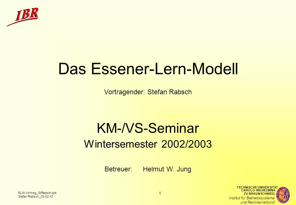 Das Essener-Lern-Modell