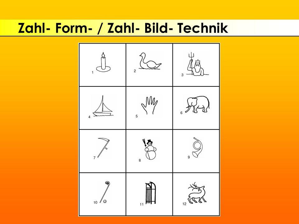 Zahl- Form- / Zahl- Bild- Technik