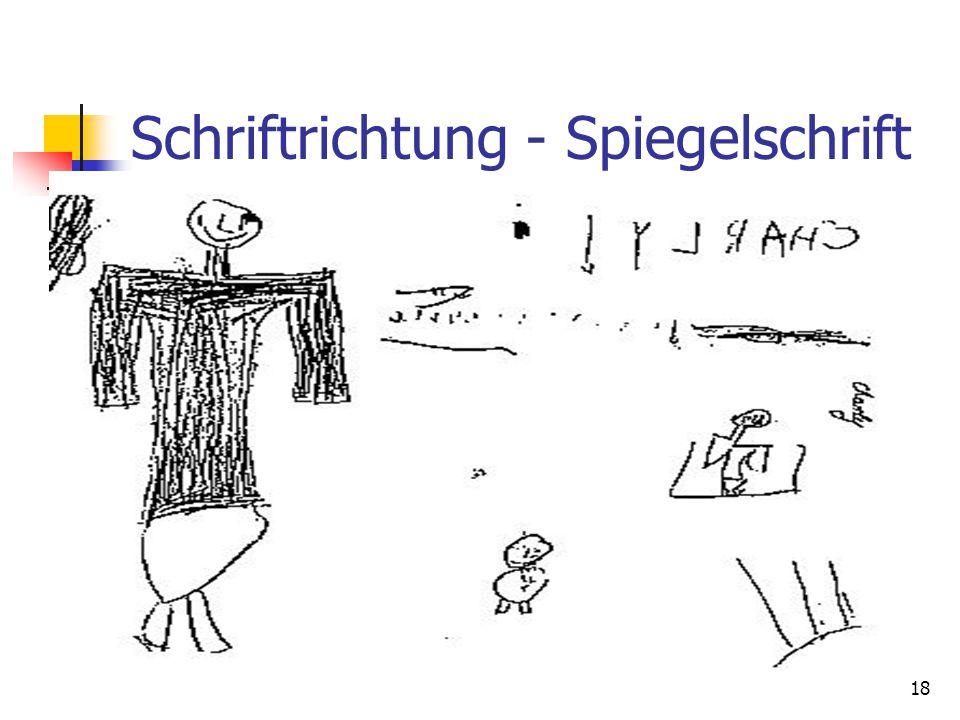 Kommunikative Schriftrichtung -Marienkäfer