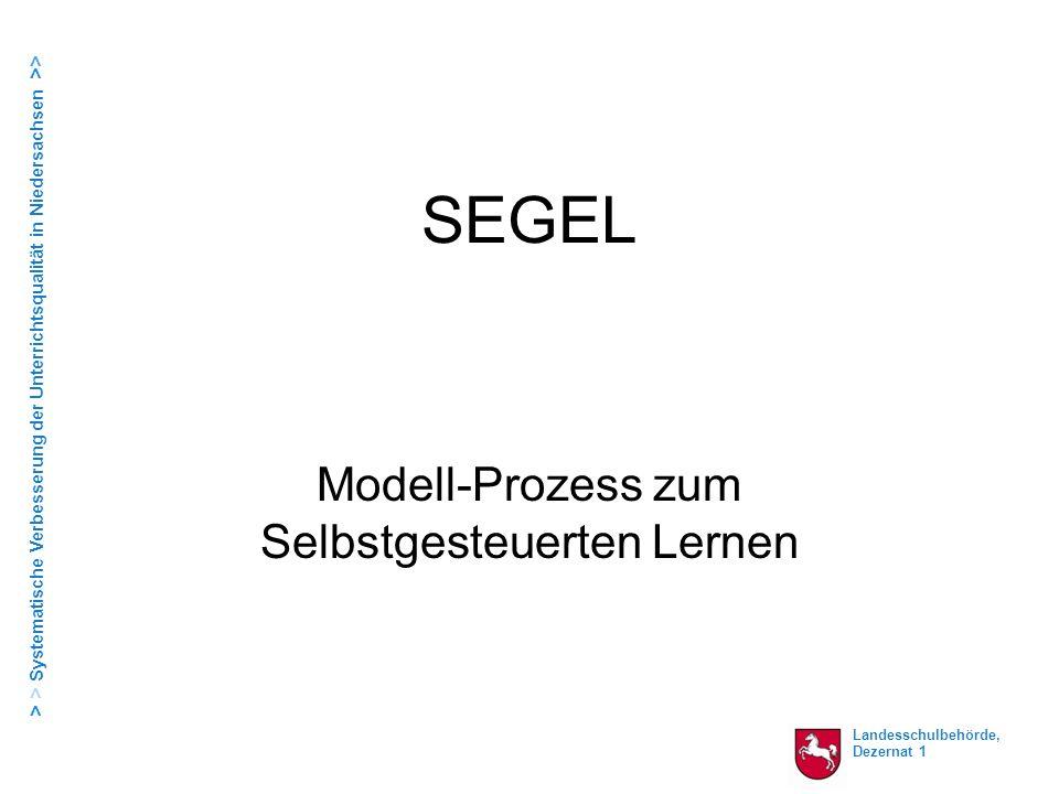 Modell-Prozess zum Selbstgesteuerten Lernen