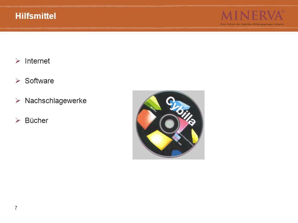 Hilfsmittel Internet Software Nachschlagewerke Bücher 7