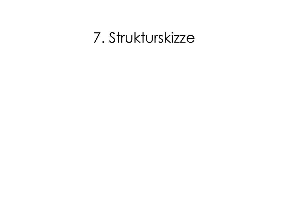 7. Strukturskizze