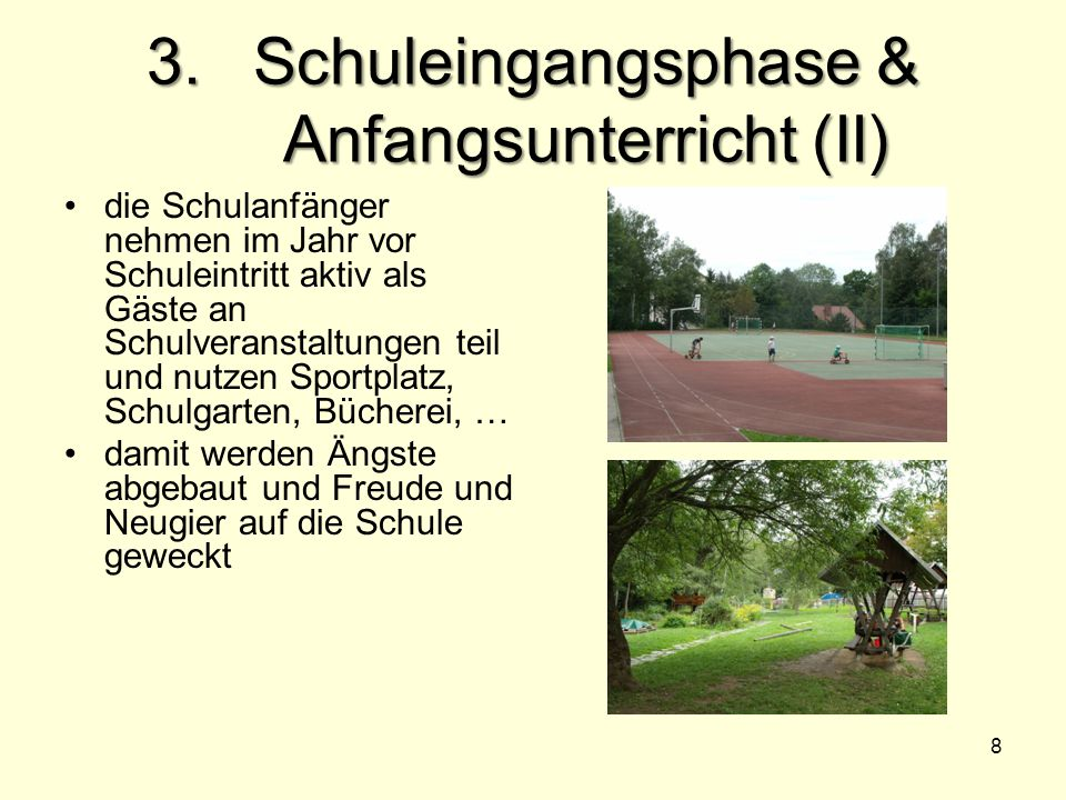 3. Schuleingangsphase & Anfangsunterricht (II)