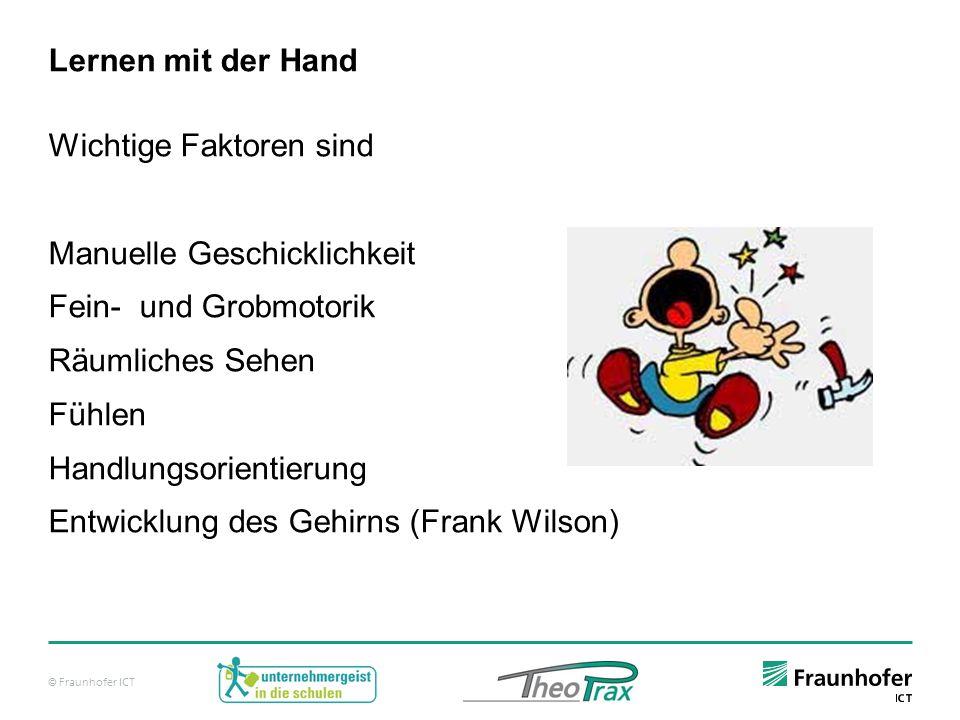 Lernen mit der Hand