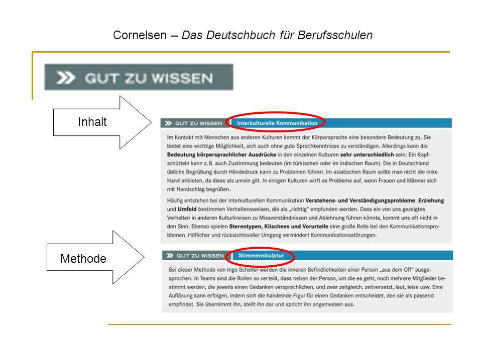 Cornelsen – Das Deutschbuch für Berufsschulen