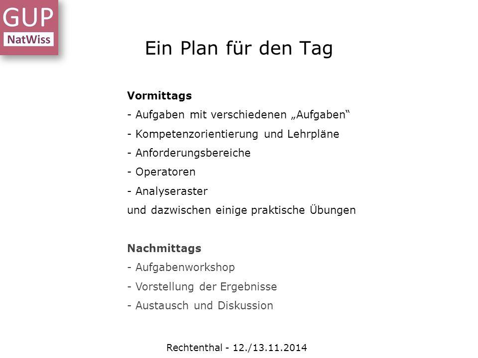"""Ein Plan für den Tag Vormittags - Aufgaben mit verschiedenen """"Aufgaben"""