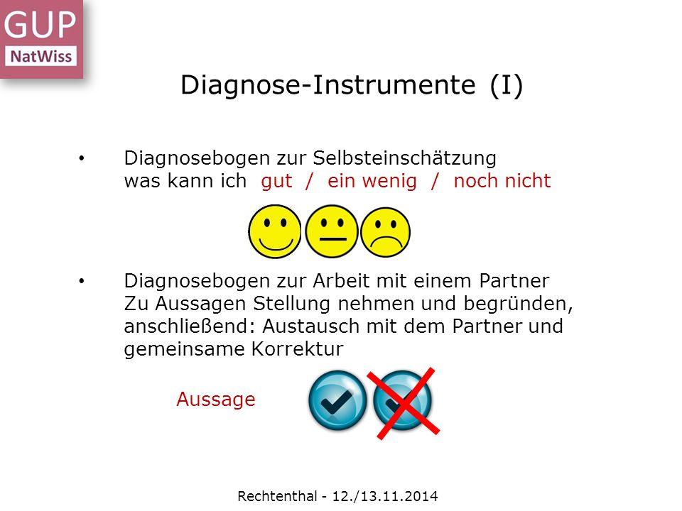 Diagnose-Instrumente (I)