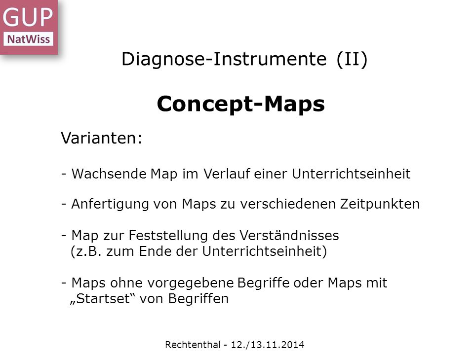 Diagnose-Instrumente (II)