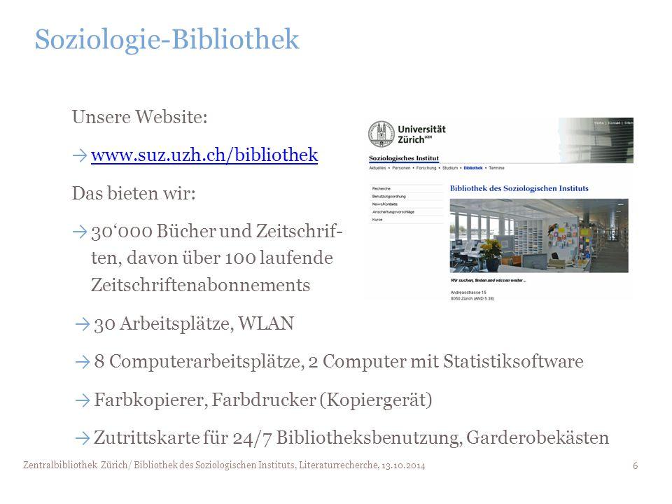 Soziologie-Bibliothek