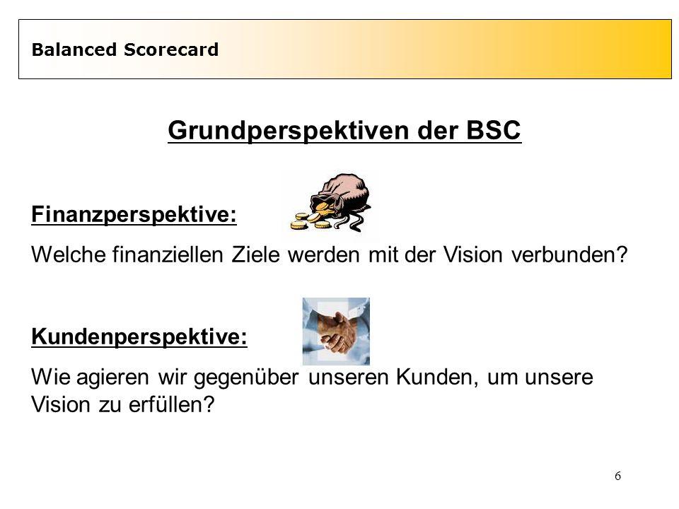 Grundperspektiven der BSC