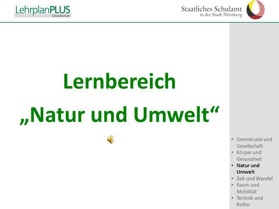 """Lernbereich """"Natur und Umwelt"""
