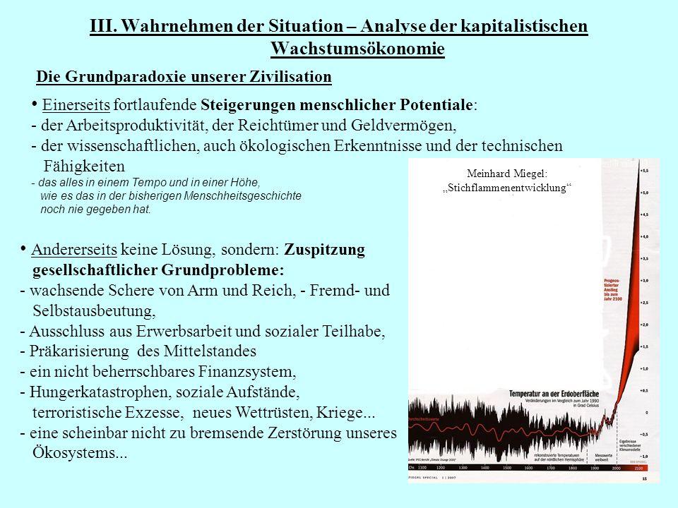 """Meinhard Miegel: """"Stichflammenentwicklung"""