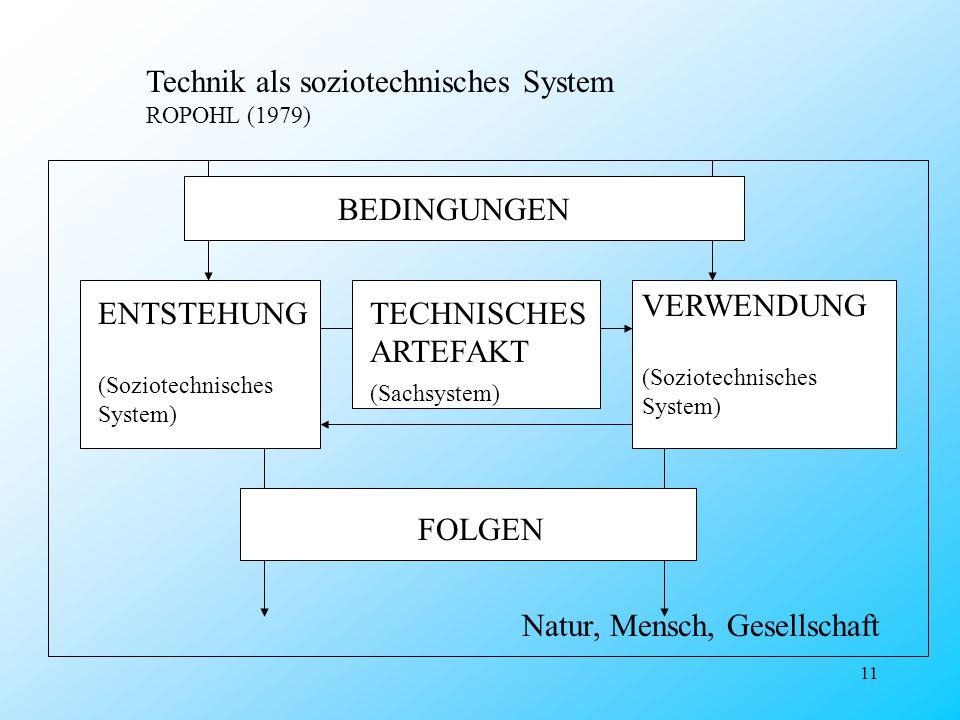 Technik als soziotechnisches System