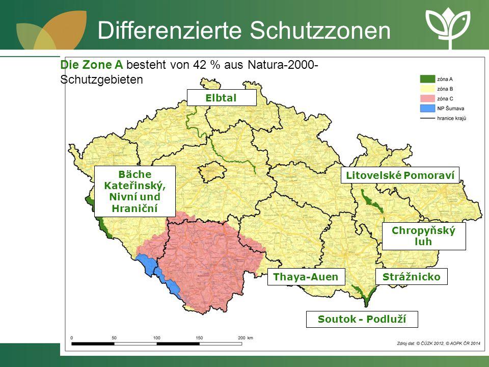 Differenzierte Schutzzonen