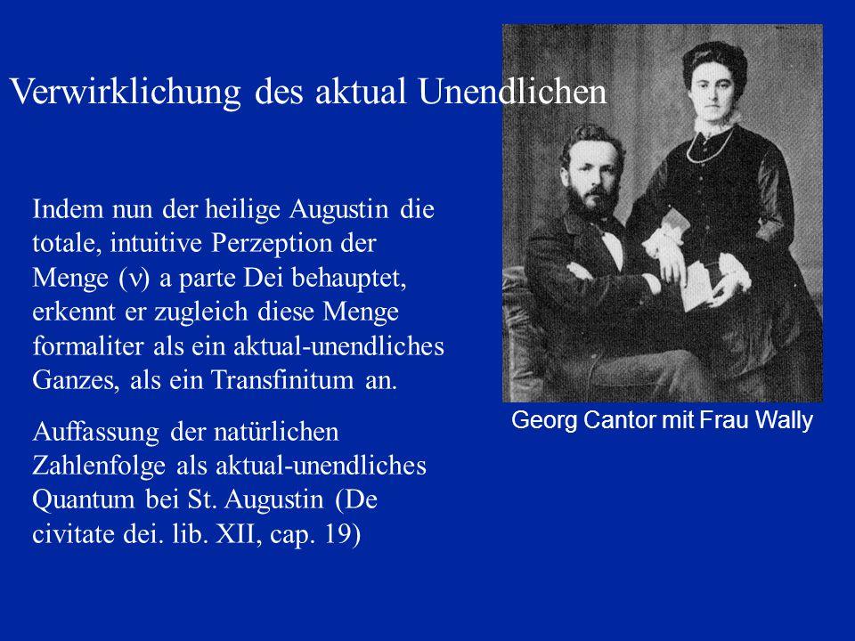 Georg Cantor mit Frau Wally