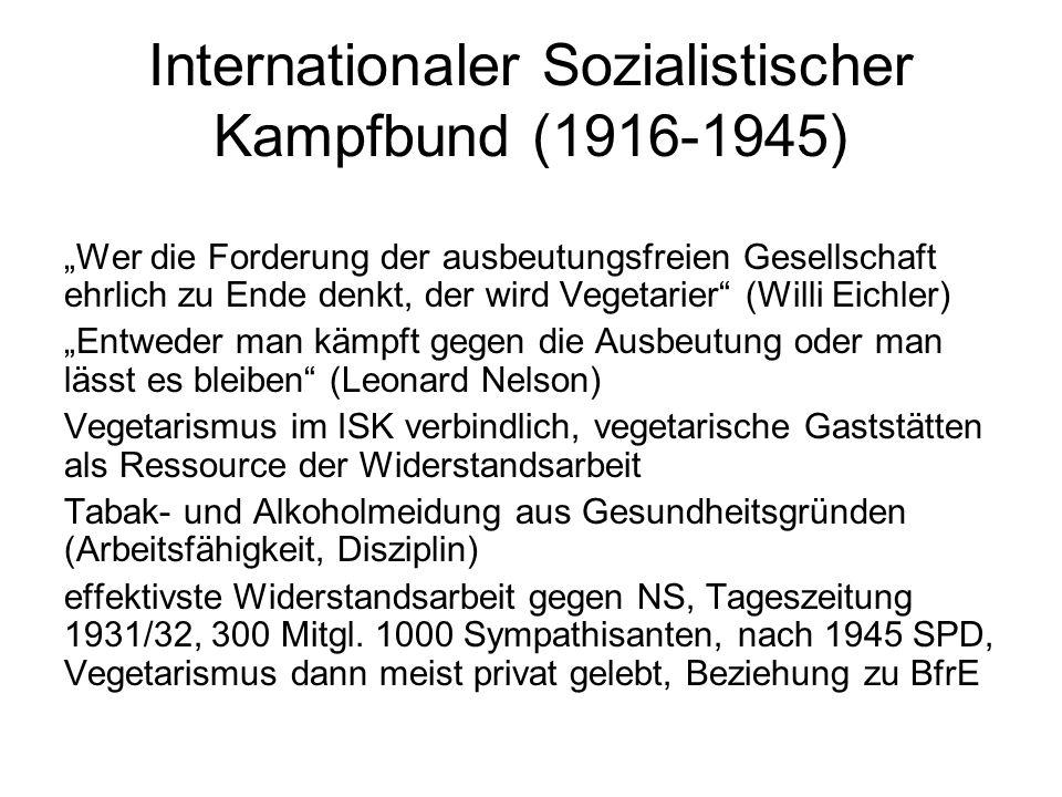 Internationaler Sozialistischer Kampfbund (1916-1945)