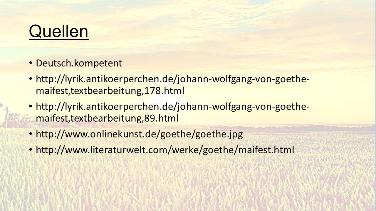 Quellen Deutsch.kompetent