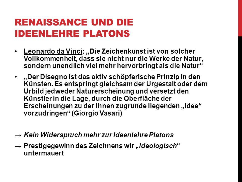 Renaissance und die Ideenlehre Platons