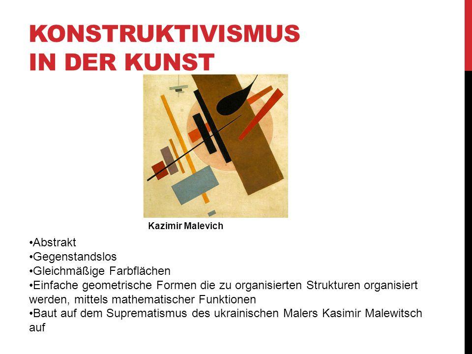 Konstruktivismus in der Kunst