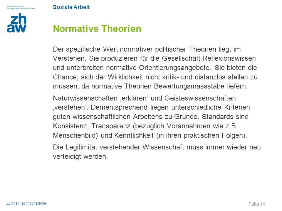 Normative Theorien
