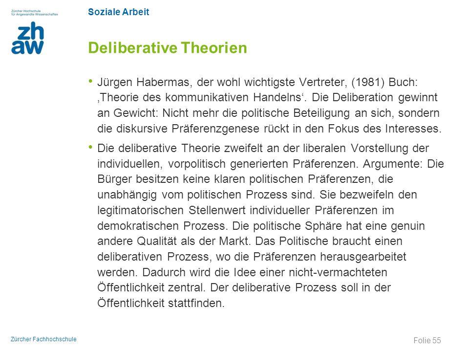 Deliberative Theorien