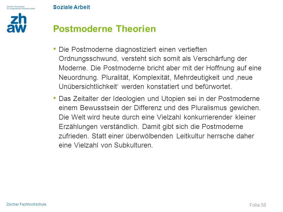 Postmoderne Theorien