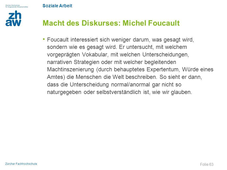 Macht des Diskurses: Michel Foucault
