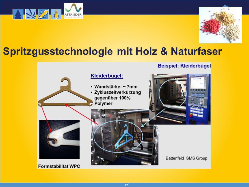 Spritzgusstechnologie mit Holz & Naturfaser