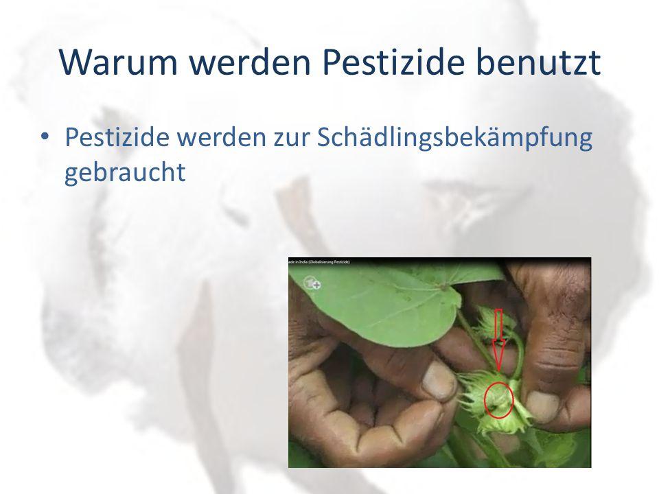 Warum werden Pestizide benutzt