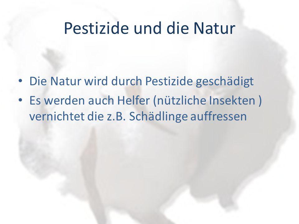 Pestizide und die Natur