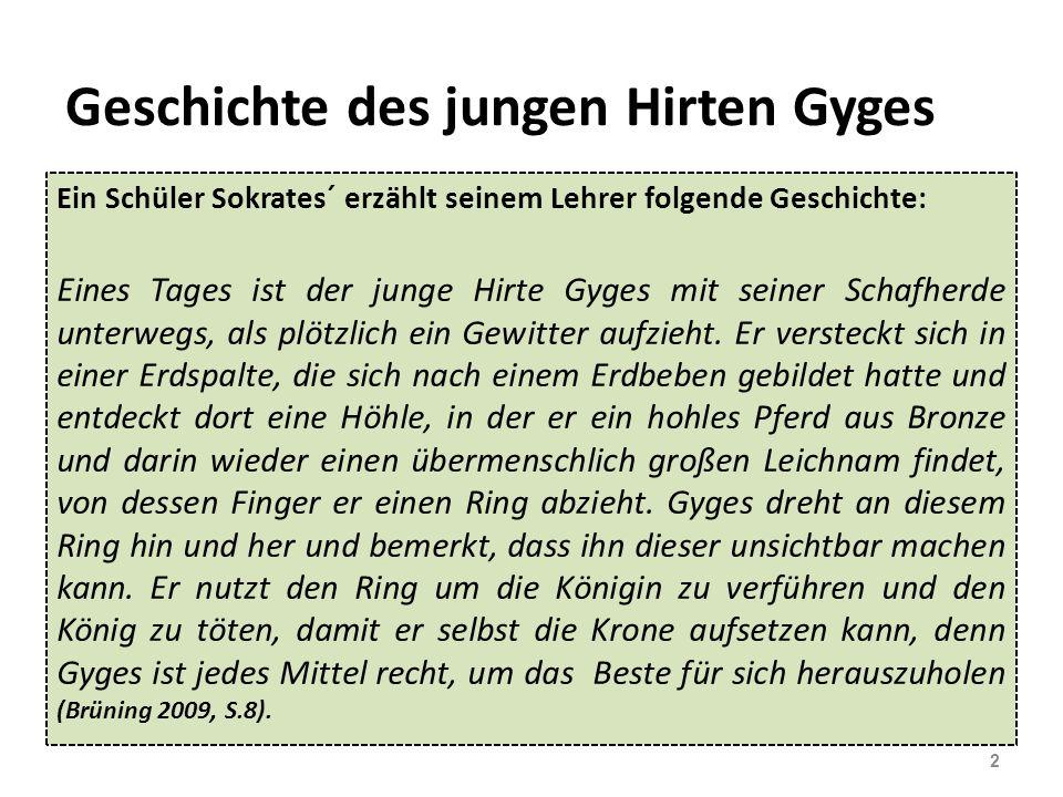 Geschichte des jungen Hirten Gyges