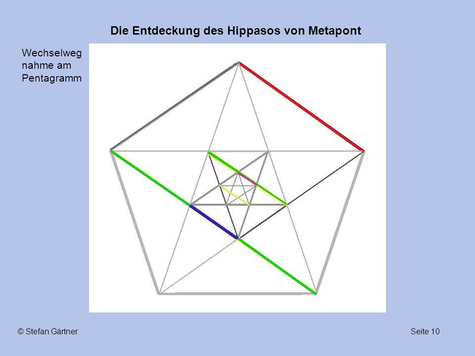 Wechselwegnahme am Pentagramm