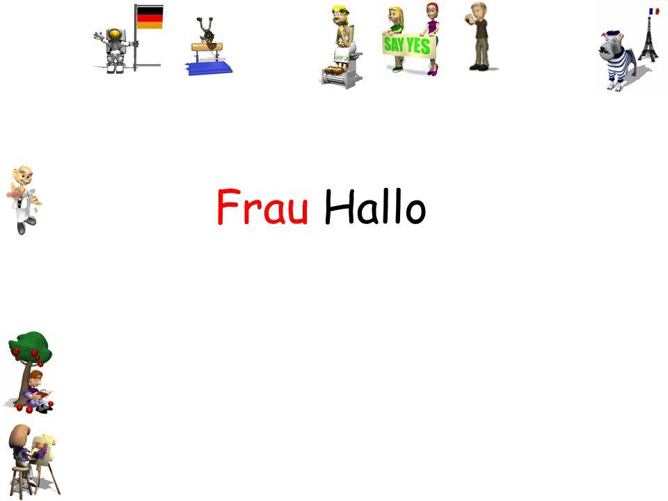 Frau Hallo