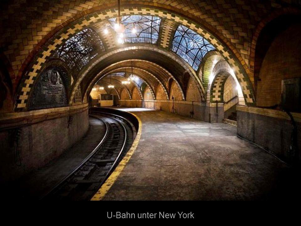 U-Bahn unter New York