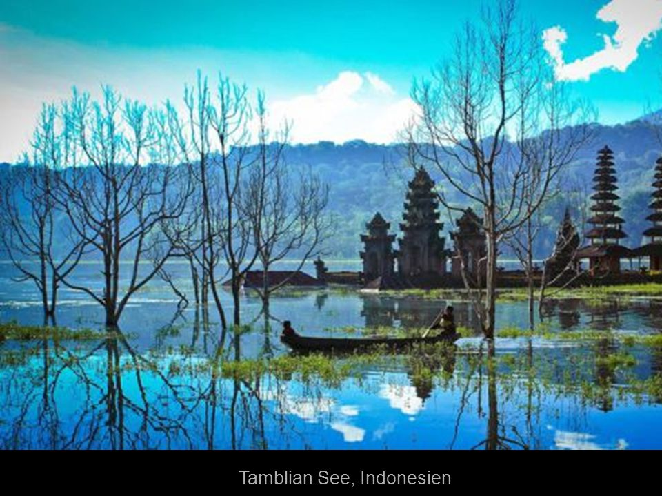 Tamblian See, Indonesien