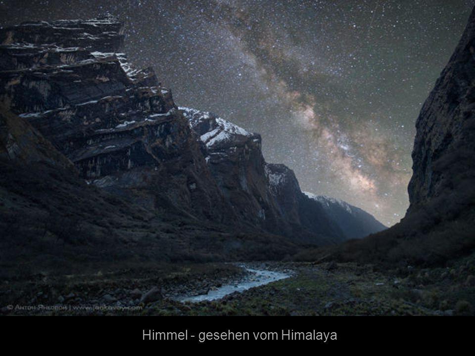 Himmel - gesehen vom Himalaya