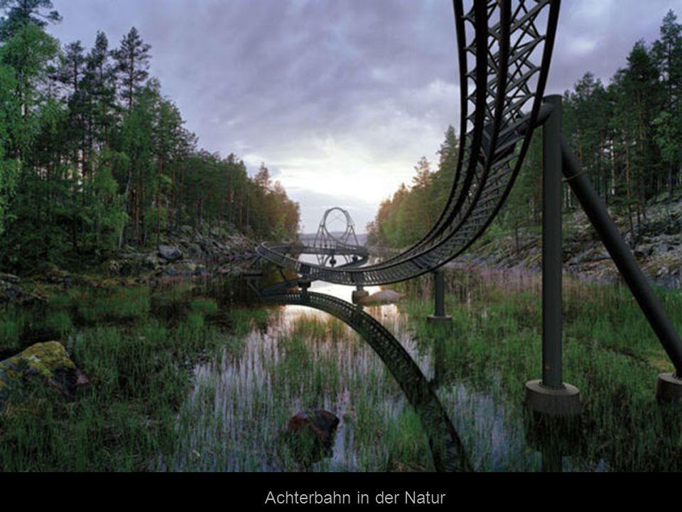 Achterbahn in der Natur