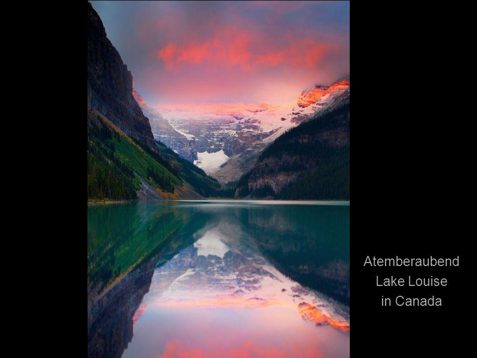 Atemberaubend Lake Louise in Canada