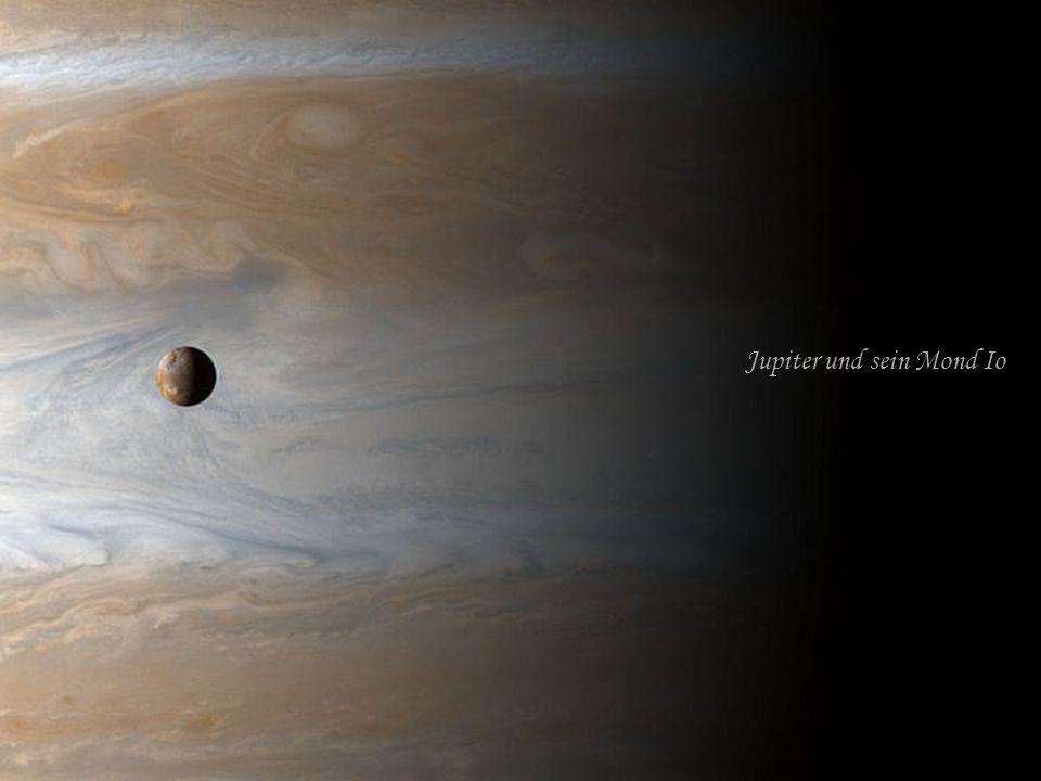 Jupiter und sein Mond Io