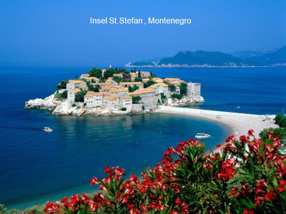 Insel St.Stefan , Montenegro