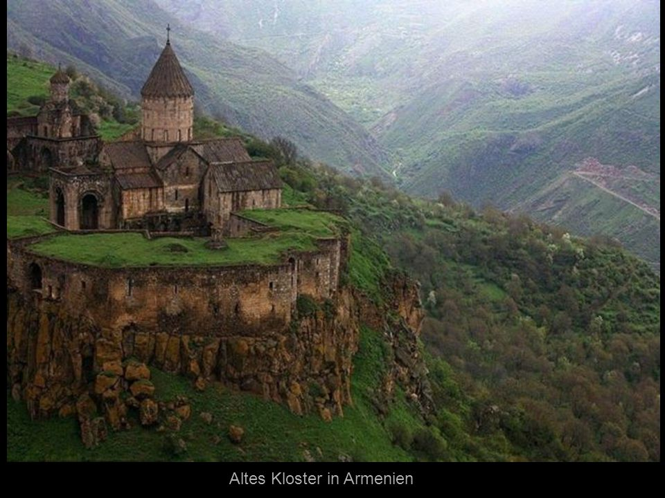 Altes Kloster in Armenien