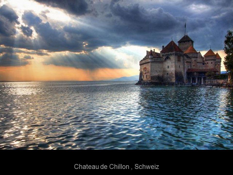 Chateau de Chillon , Schweiz